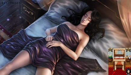 Adelina Steinmayer (Sleeping Scene) by eollynart