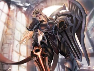 League of Legends - Solar Eclipse Leona by eollynart