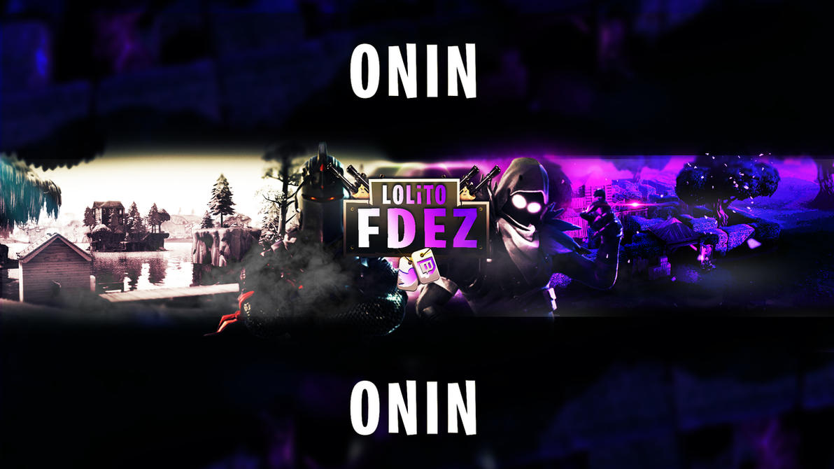 fortnite youtube banner for lolito fdez by oninyourfly on deviantart. Black Bedroom Furniture Sets. Home Design Ideas
