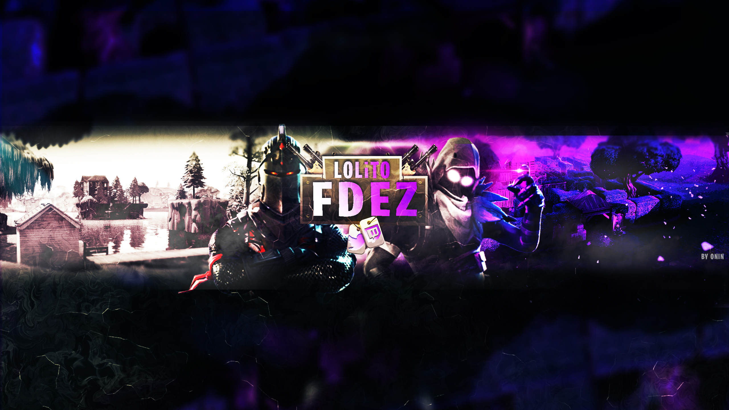 Fortnite Youtube Banner For Lolito Fdez 2nd Ver By Oninyourfly On Deviantart