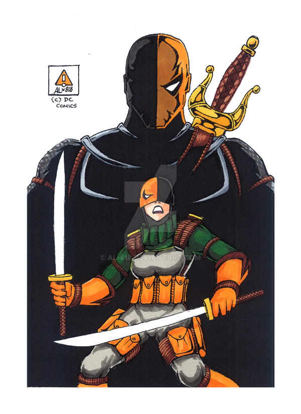 Ravager At Deathstroke Academy By AL 818