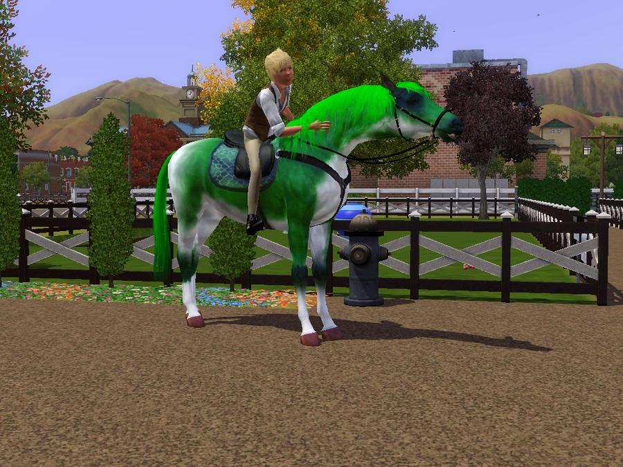 sims 3 pets   horse basilisk by horsespectrum on deviantart