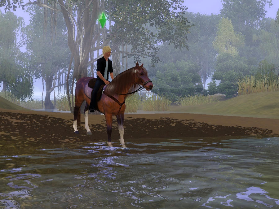 how to get a horse on sims 3 pets
