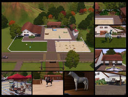 Sims 3 Pets - Horse Camp by HorseSpectrum