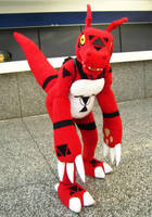 Guilmon by TorvaBeast