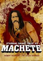 Machete Poster by chadtrutt