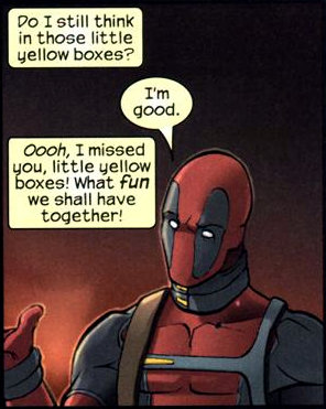 Deadpool v. The Fourth Wall by phazonGhost