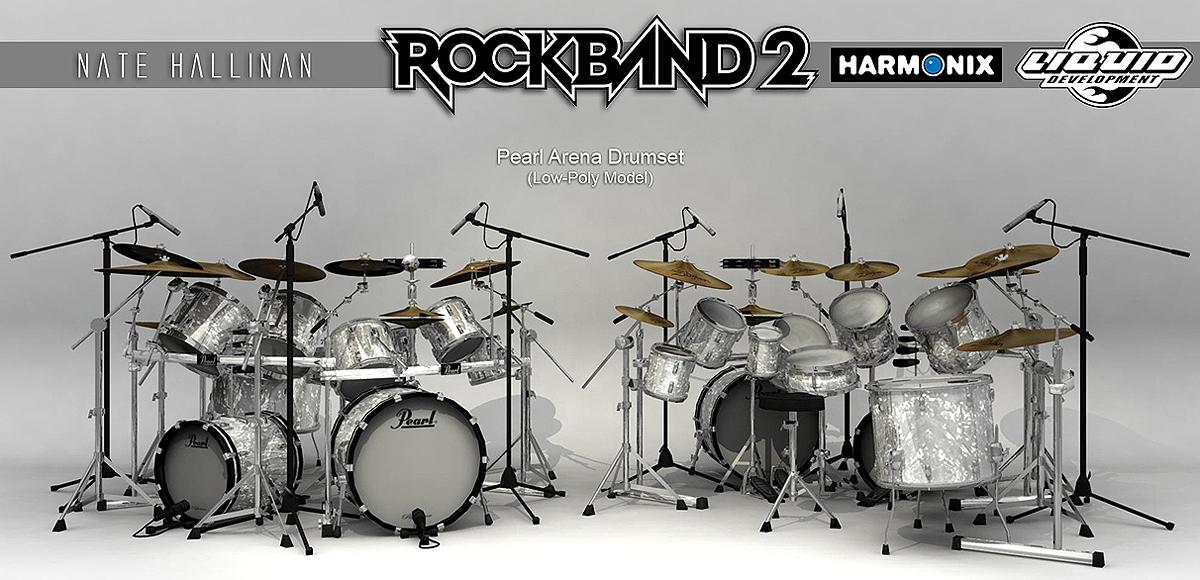 Pearl Drumset RB2 by NateHallinanArt