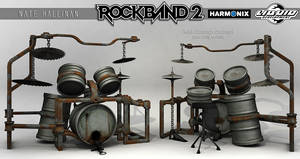 Rust Drums RB2 by NateHallinanArt