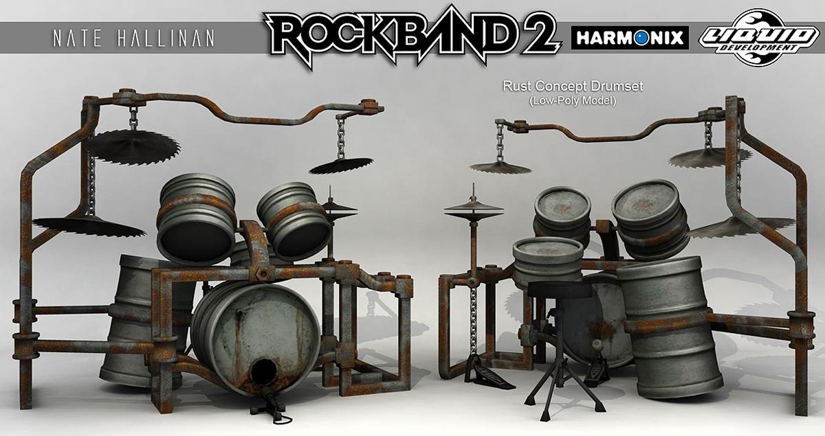 Rust Drums RB2 by NateHallinanArt