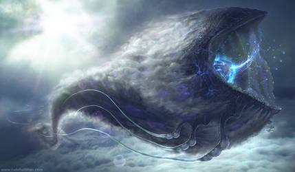 Polyphemus Gas Giant - Avatar by NateHallinanArt