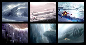 Environment Speed Paintings