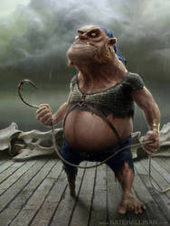Konk - Pirates of Dark Water by NateHallinanArt