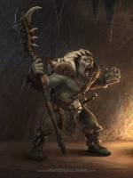 Orc Shaman by NateHallinanArt