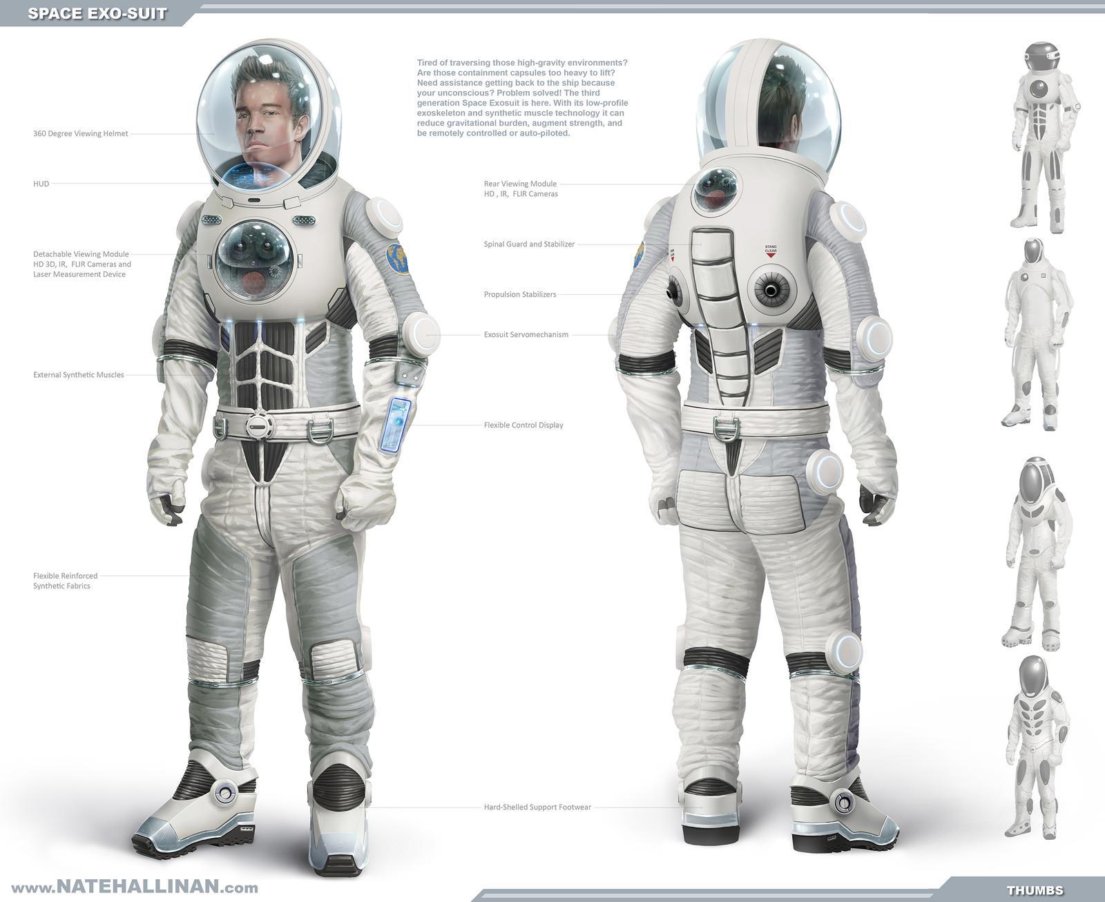 Space Exosuit