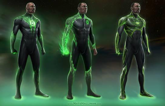 Green Lantern Concepts (John Stewart)