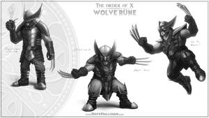 The Order of X - Wolve'rune