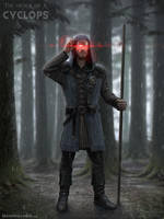 Cyclops - The Order of X by NateHallinanArt