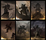 Wolve'rune Sketches