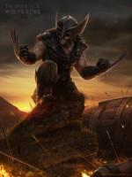 Wolve'rune - The Order of X by NateHallinanArt