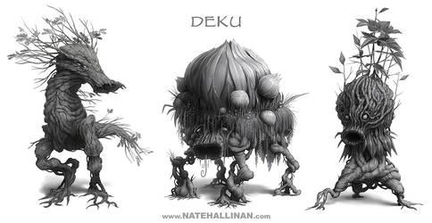 Deku Designs by NateHallinanArt