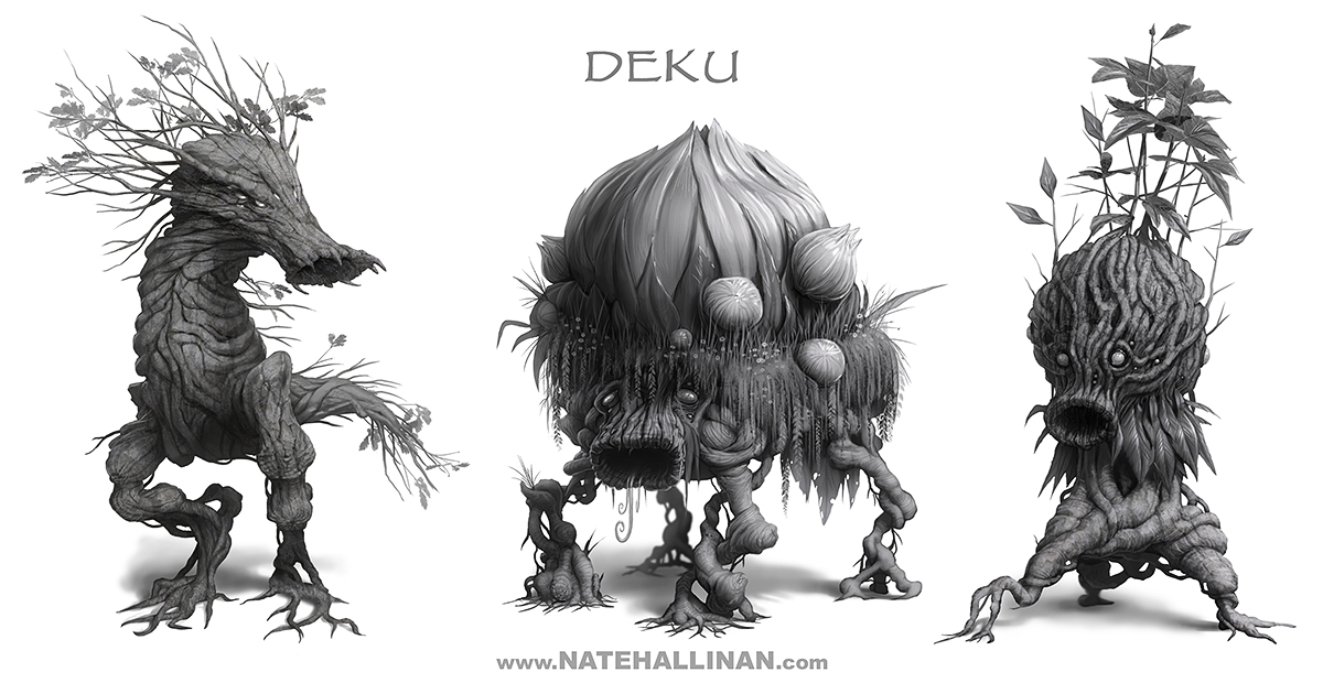 Deku Designs by NateHallinanArt