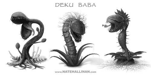 Deku Baba Concepts by NateHallinanArt