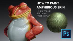 Tutorial on Painting Amphibious Skin