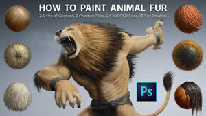 How to Paint Animal Fur in Photoshop