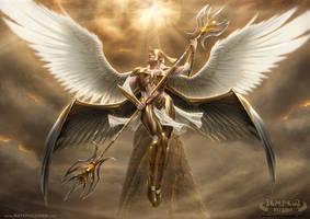 Tempest Seraph by NateHallinanArt
