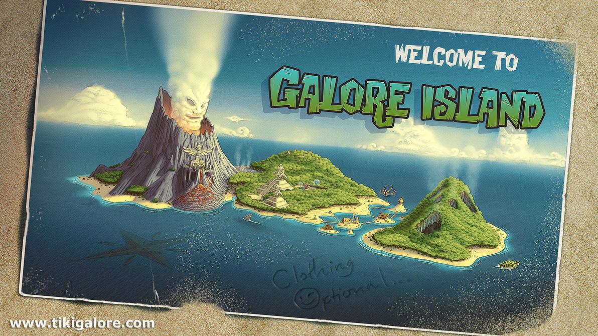 Galore Island by NateHallinanArt