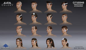 Citizen Male Hair and Accessories