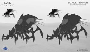 Black Terror Alien