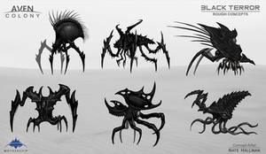 Black Terror Alien Thumbs