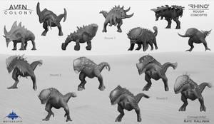 Rhino Alien Thumbs