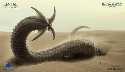 Sandworm Alien