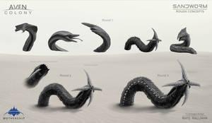 Sandworm Alien Thumbs