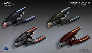 Combat Drone Colors