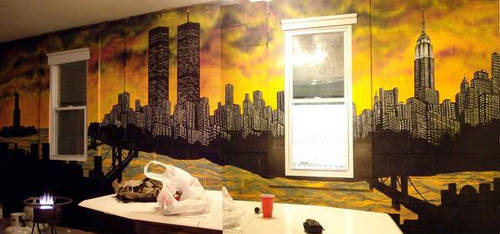 Mural of NYC by AJKILIAN