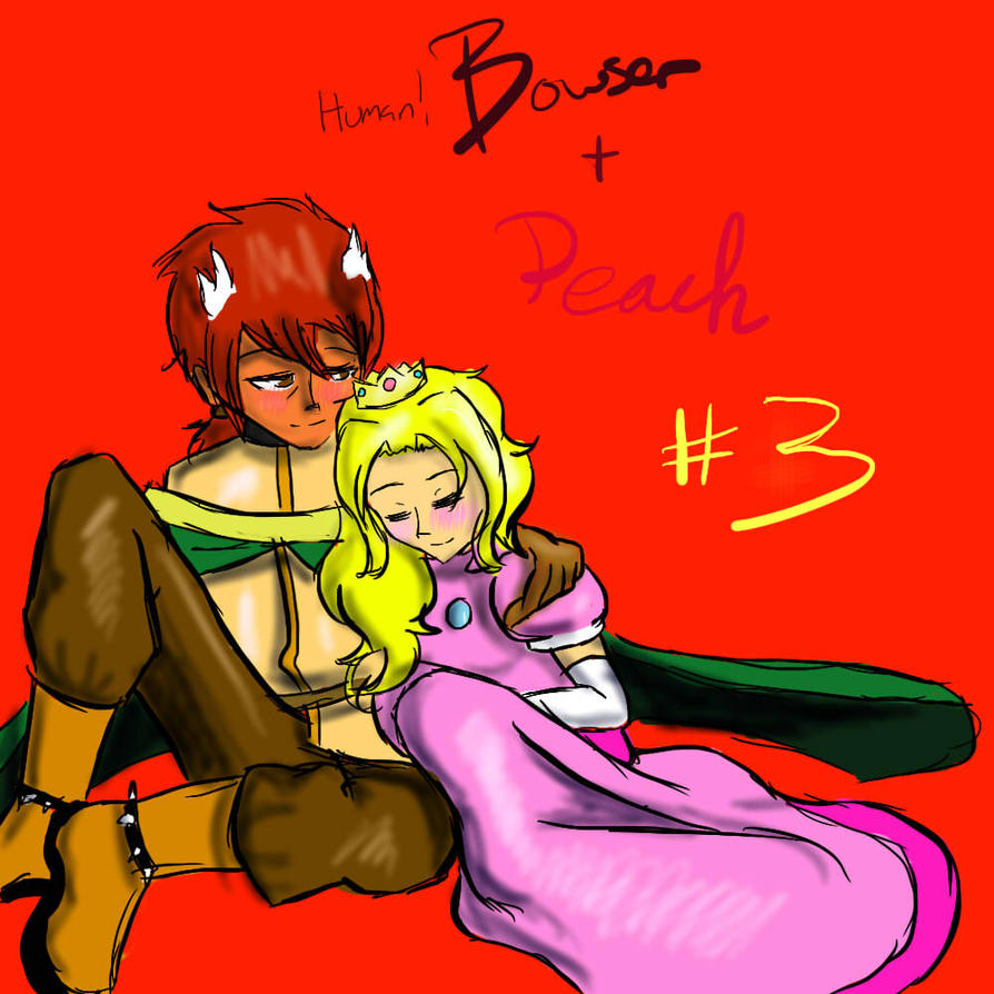 pairing 3 human bowser peach by override7400 on deviantart