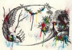 vida y muerte en color