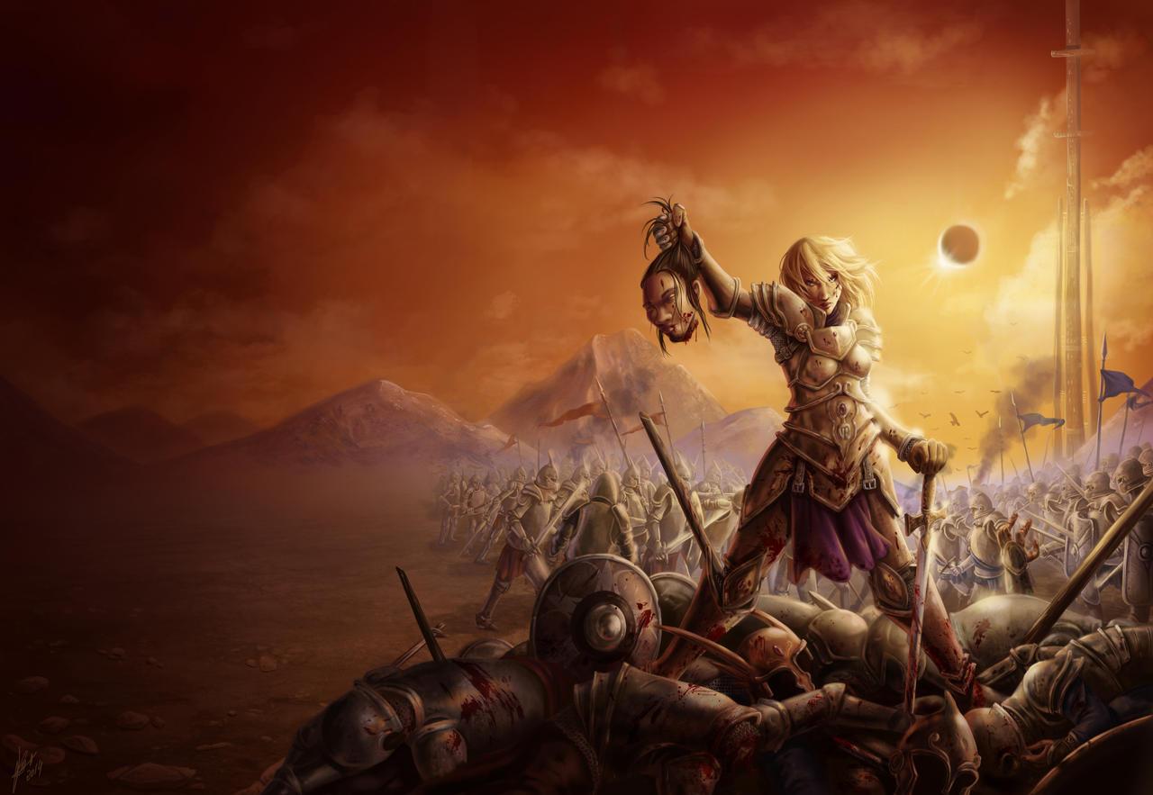 Battle by Irina-Hirondelle