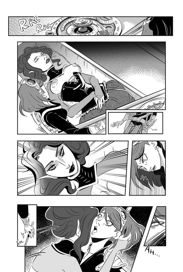 Vampires comic manga by Irina-Hirondelle