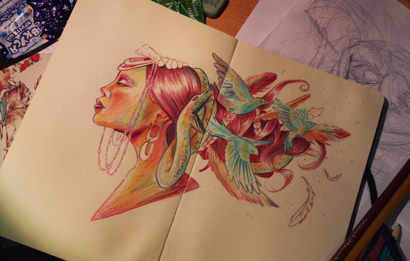 Flee far away by Irina-Hirondelle