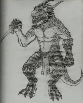 Lizard warrior