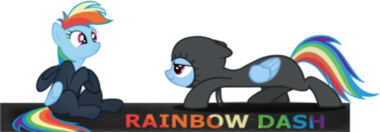 Rainbow Dash userbar 1 by Efusblut