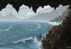 Sea Cave by Techz59