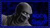 MK: Noob Saibot Stamp by ChibiLucius