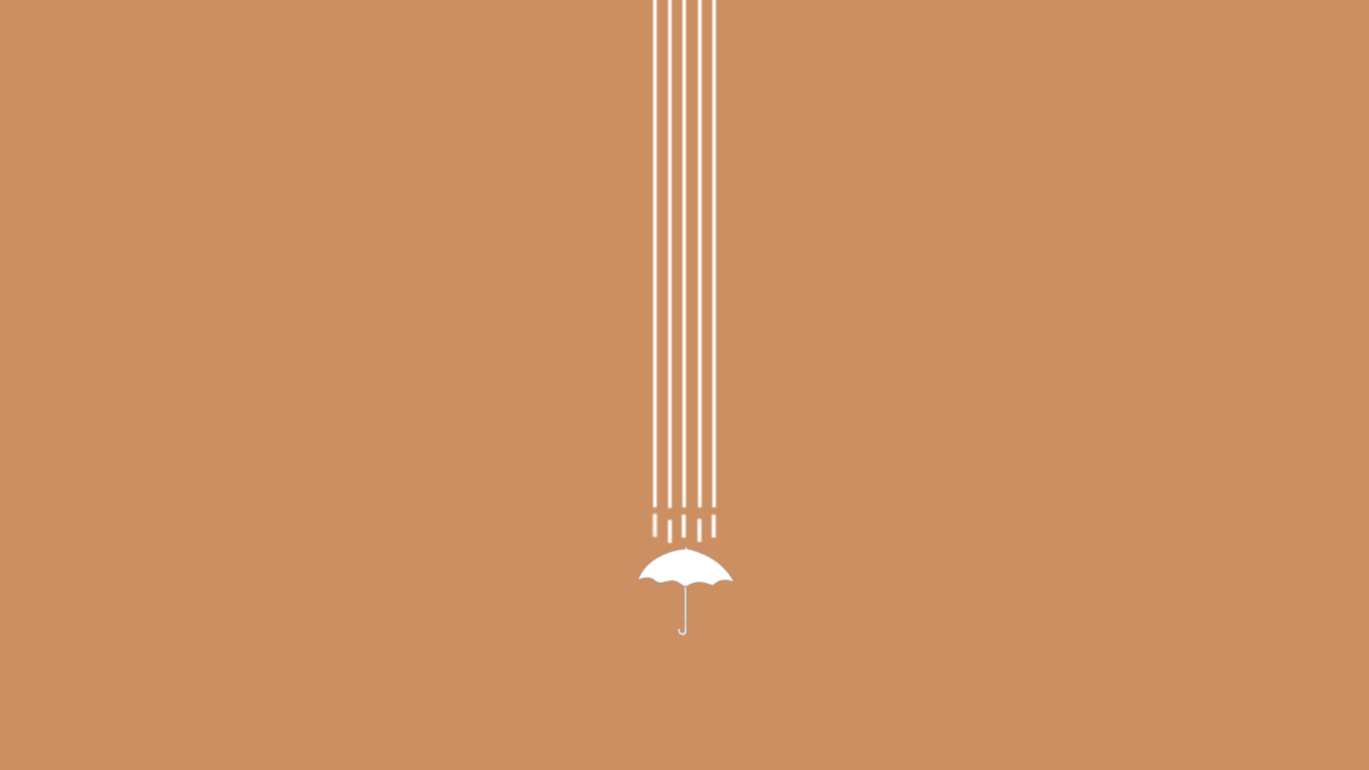 Minimalist wallpaper headphones umbrella art 1315618 for What is a minimalist
