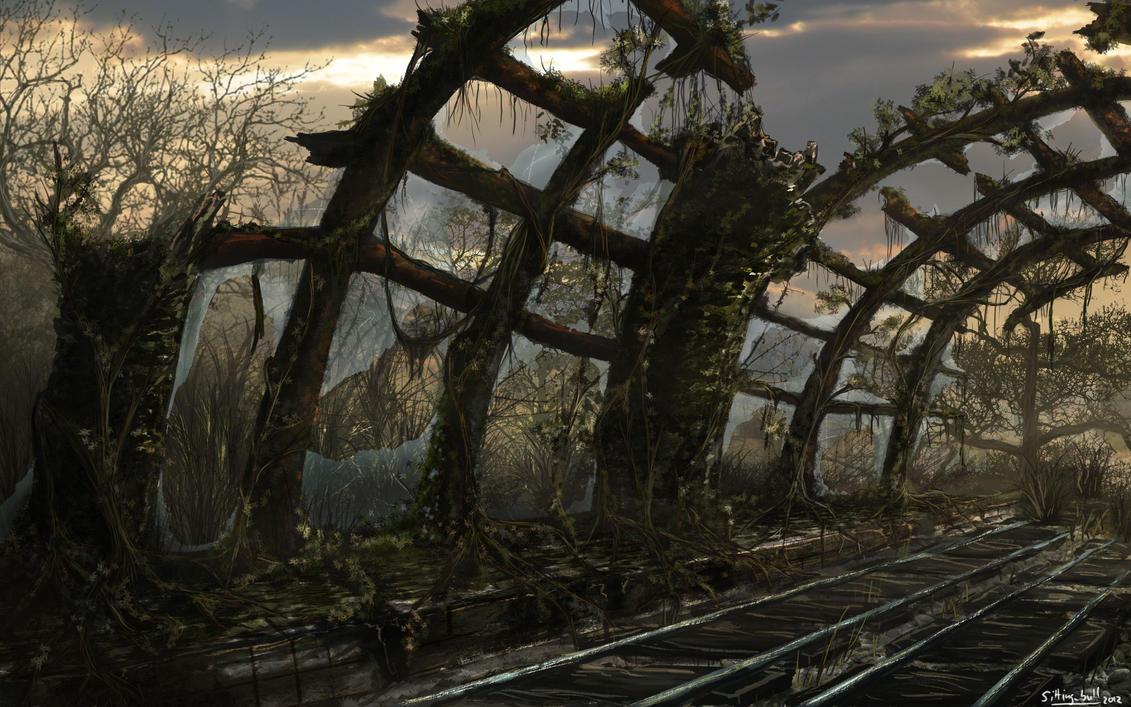 Railway Station by xXSittingBullXx